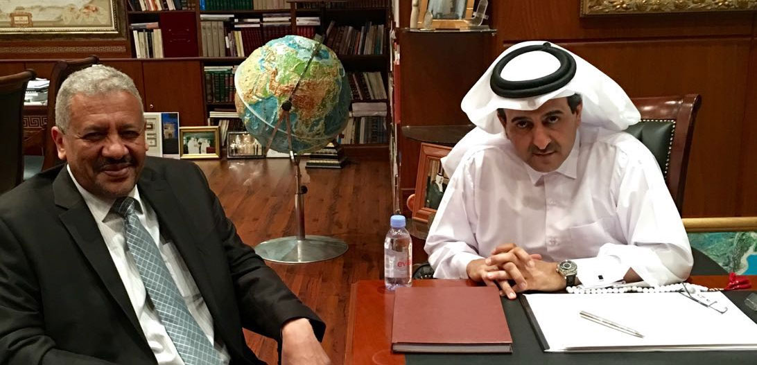 Vice-Chancellor meets with Chairman Board of Trustees of ROLACC in Doha